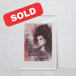 Amy – Mixed Media Oil Painting